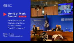 COVID-19 and the world of work